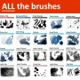 Every Photoshop brush