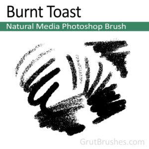 Burnt Toast - Natural Media Brush
