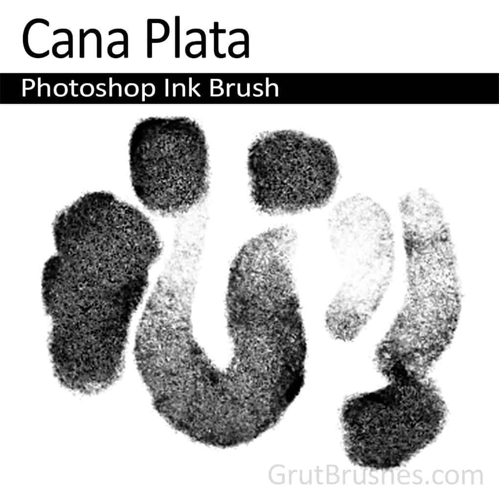 'Cana Plata' Photoshop Ink Brush