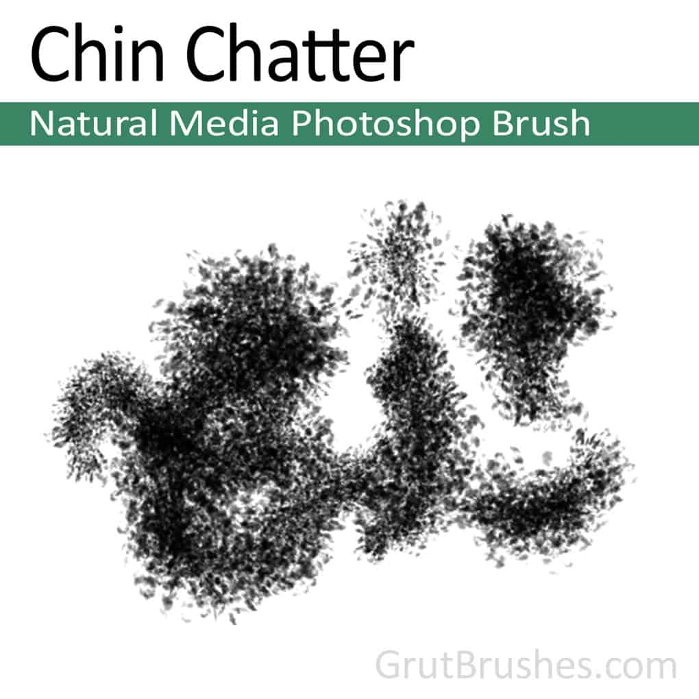 Chin Chatter - Photoshop Natural Media Brush