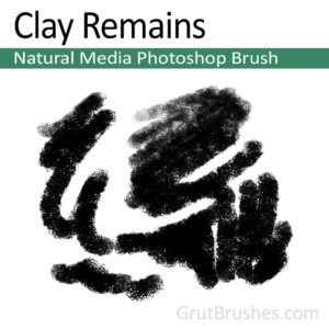 'Clay Remains' Photoshop Pastel Brush for digital artists