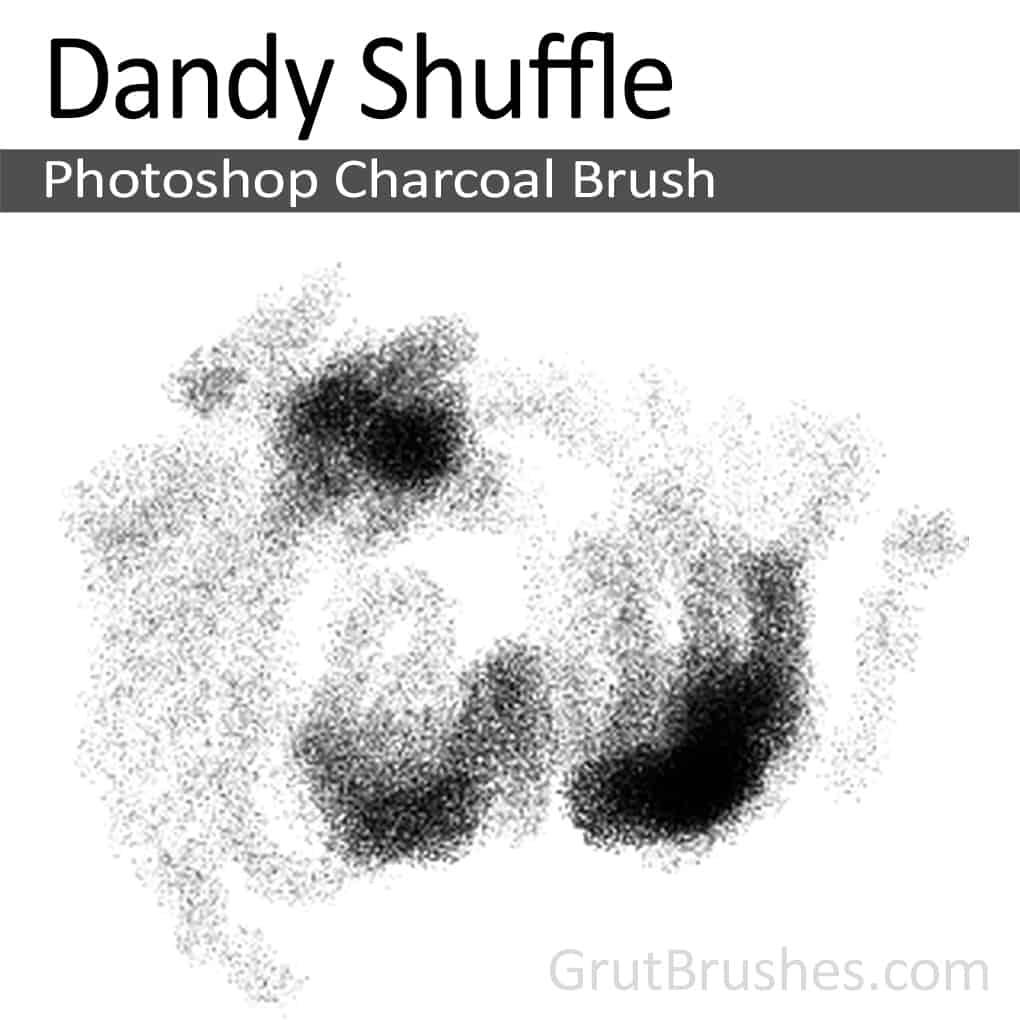 Photoshop Charcoal Brush 'Dandy Shuffle'