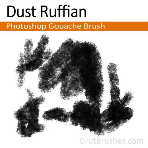 Photoshop Gouache Brush 'Dust Ruffian'