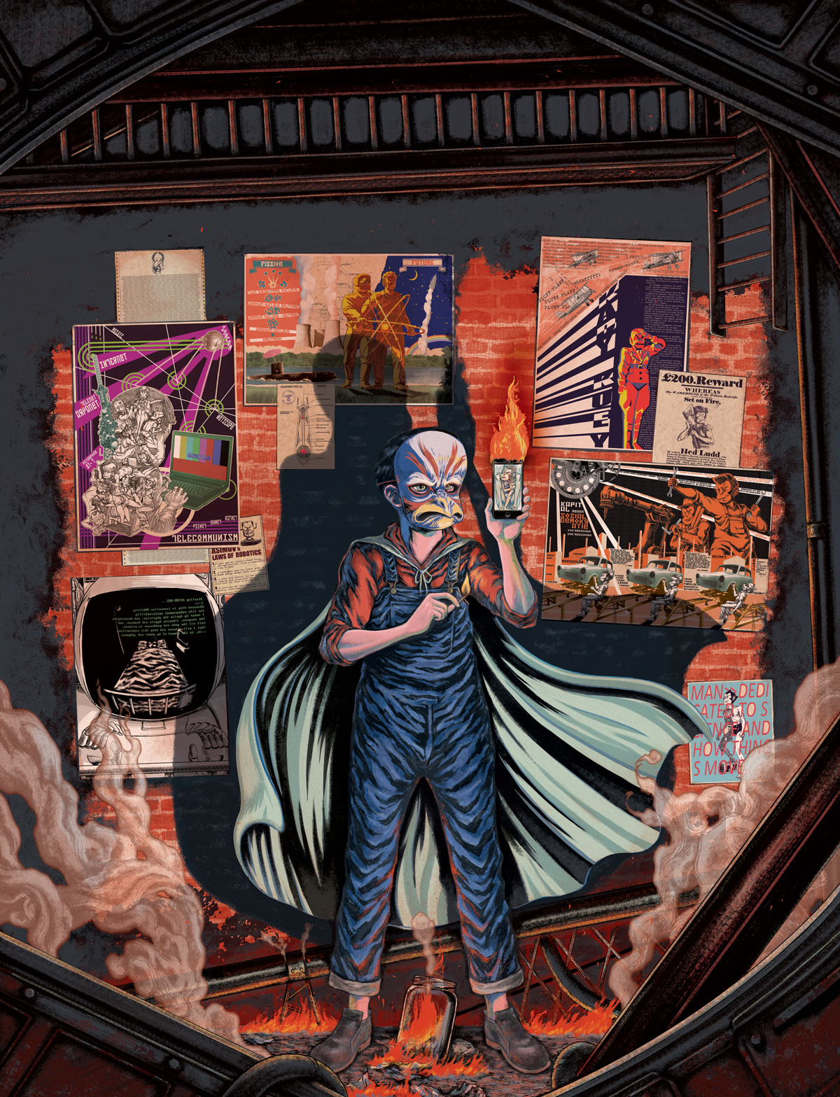 Digital Painting by Fabio Ramiro Rossin