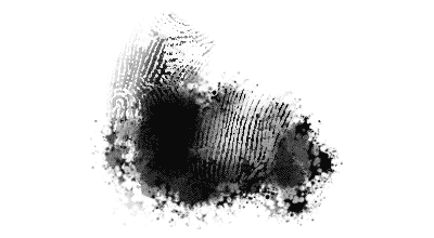Photoshop fingerprint brush and blender