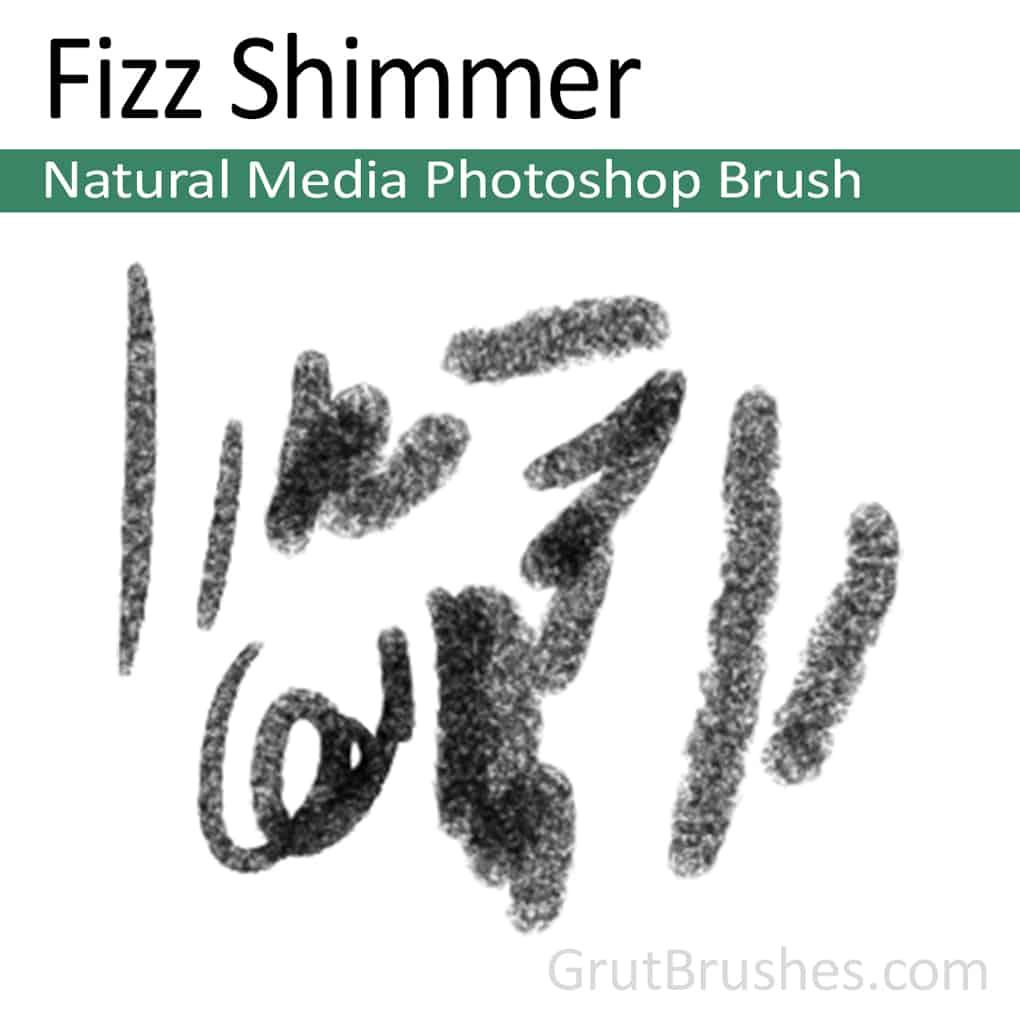 'Fizz Shimmer' Photoshop Natural Media Brush
