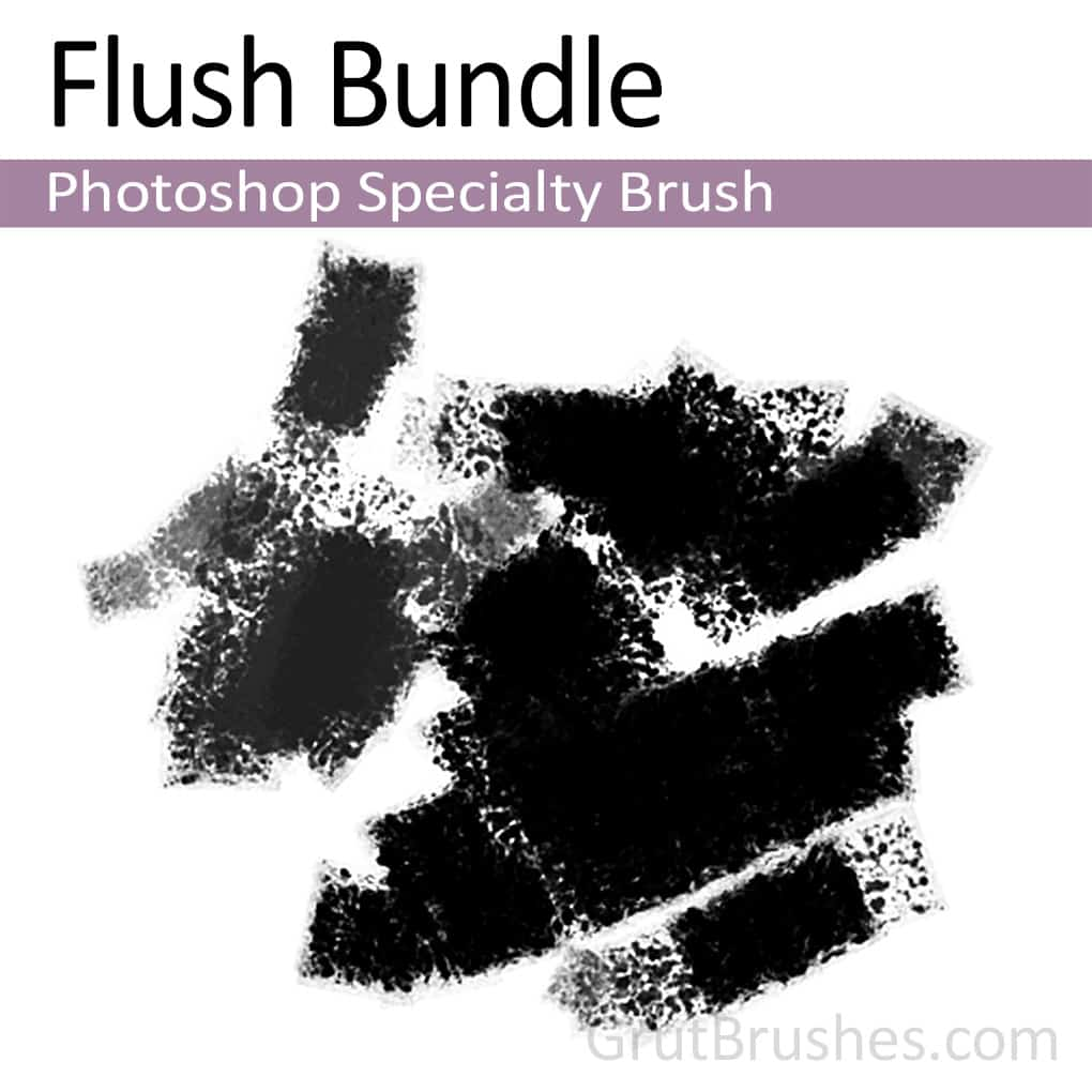 Photoshop Specialty brush 'Flush Bundle'