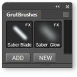 Free Photoshop lightsaber Brushes