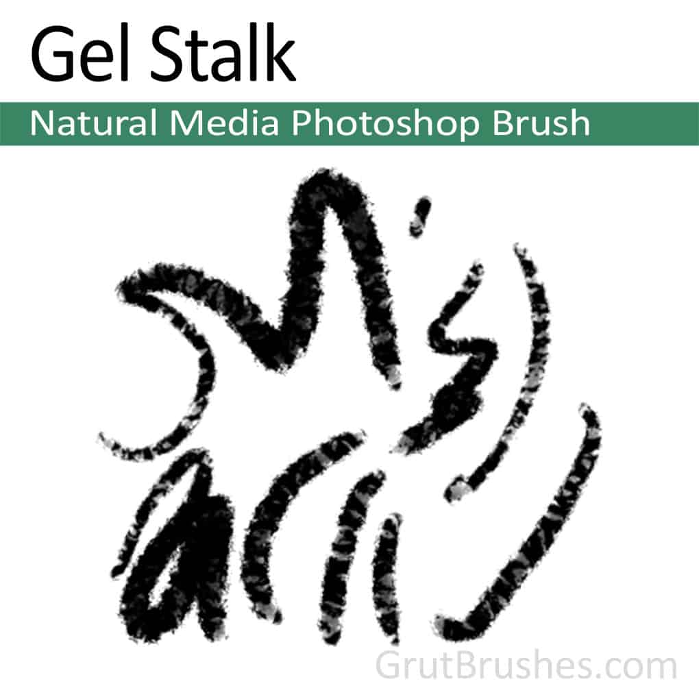 Gel Stalk - Photoshop Natural Media Brush