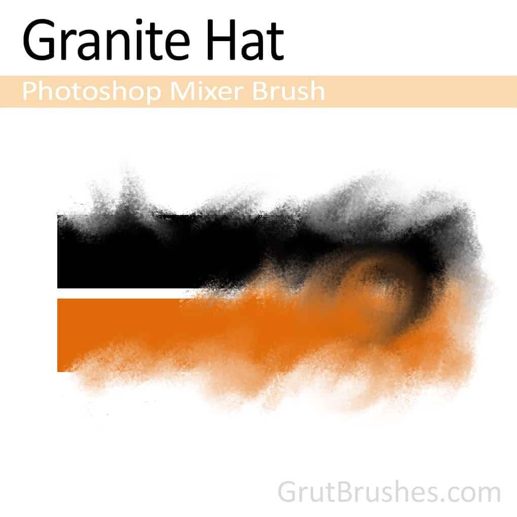 Photoshop mixer/blender brush