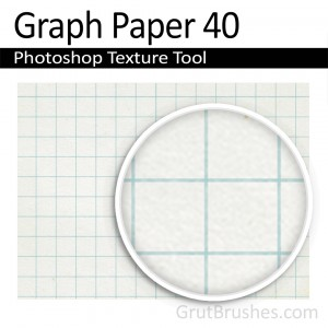 'Graph Paper 40' Photoshop graph paper tool