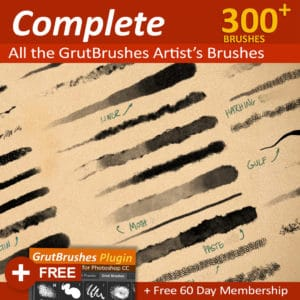 300 Photoshop Brushes