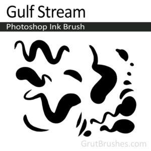 Gulf Stream Photoshop digital ink brush for digital painting