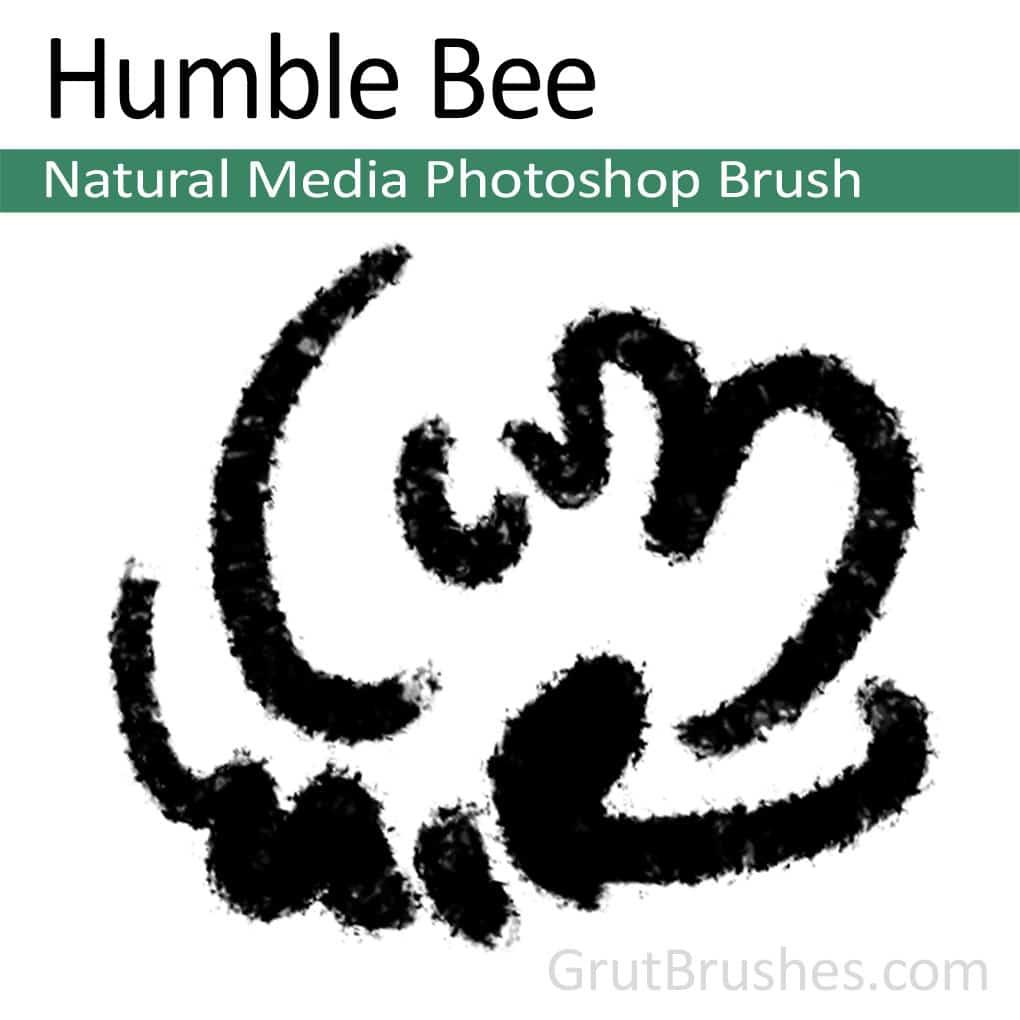 Photoshop Natural Media Brush 'Humble Bee'