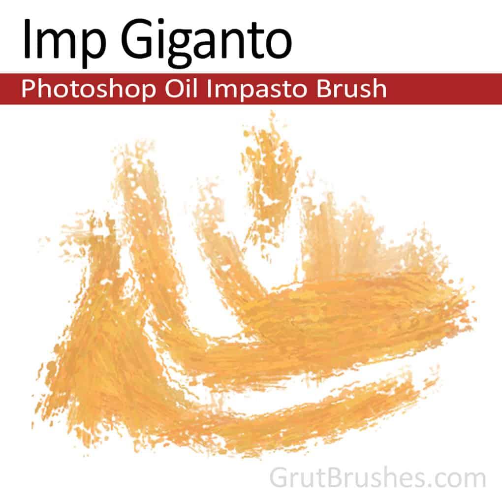 'Imp Giganto' Impasto Oil Photoshop