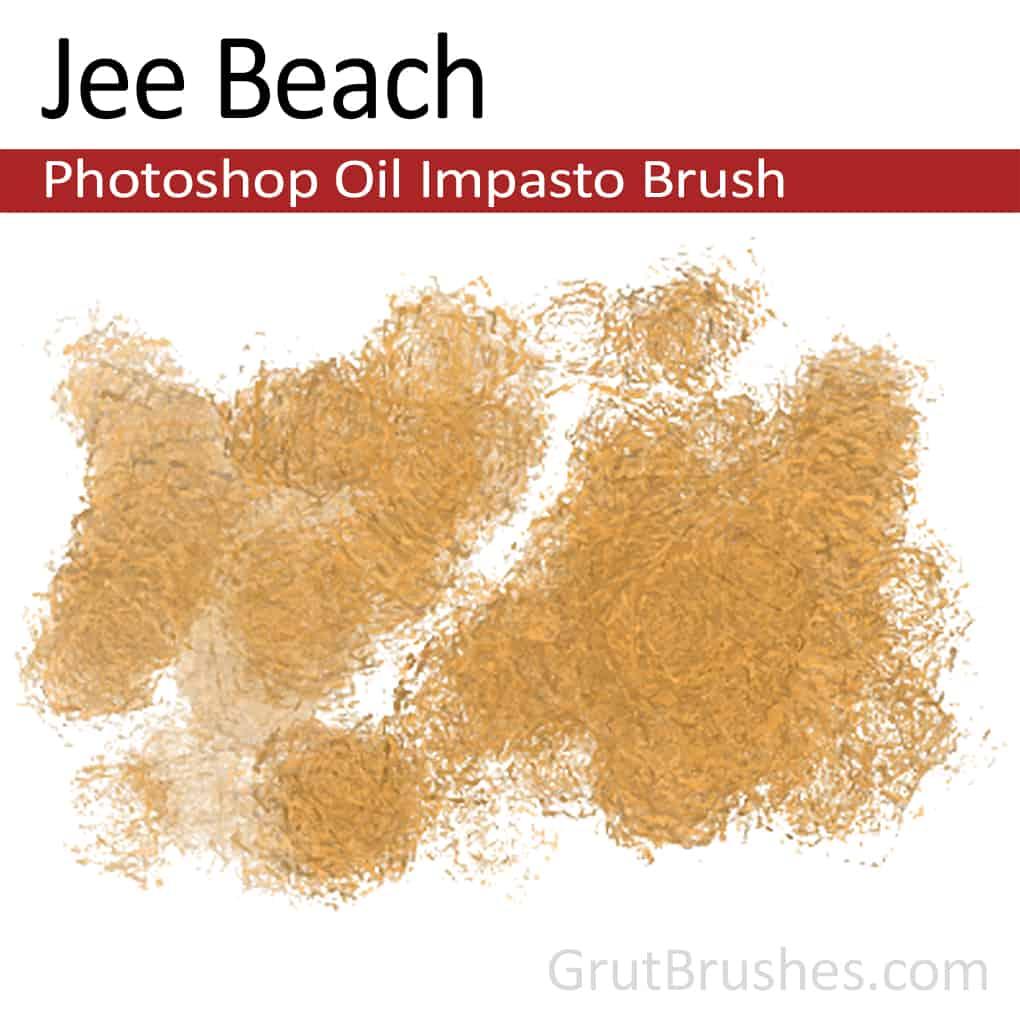 Jee Beach - Impasto Oil Photoshop Brush