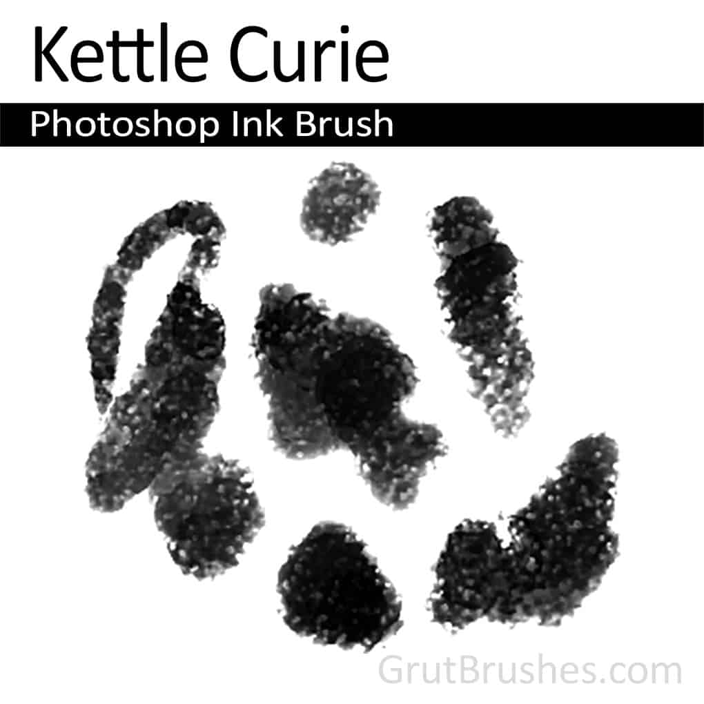 Photoshop Ink Brush 'Kettle Curie'