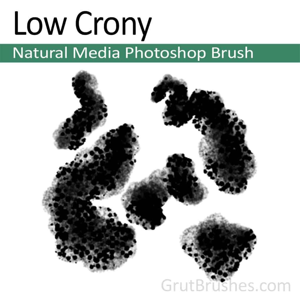 Photoshop Brush - 'Low Crony' Natural Media