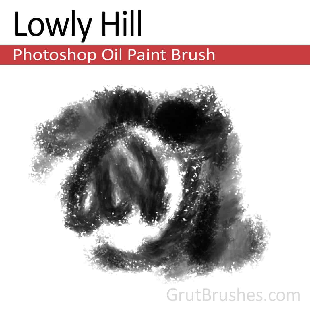 Photoshop Oil Brush 'Lowly Hill'