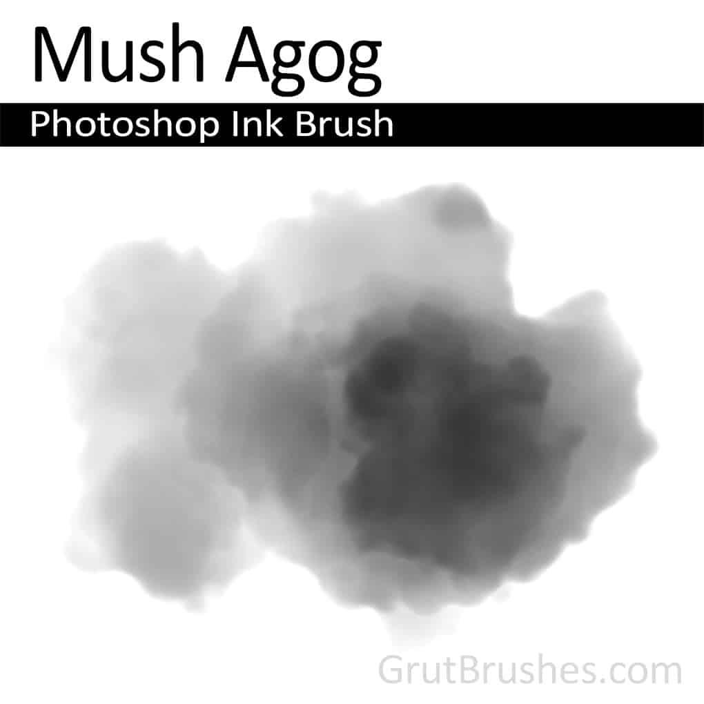 Photoshop Ink Brush 'Mush Agog'