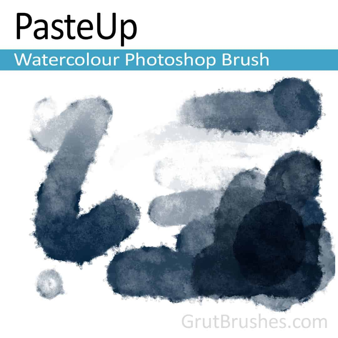 Pasteup - a Realistic Watercolour Brush for Photoshop