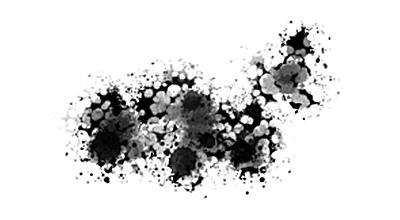 Photoshop ink splatter brushes