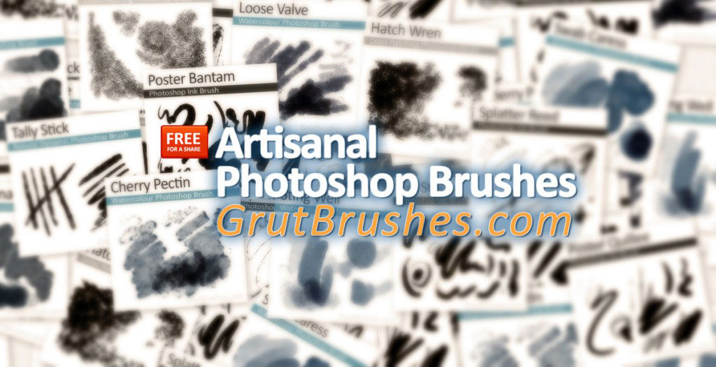 Free Photoshop brushes for a share
