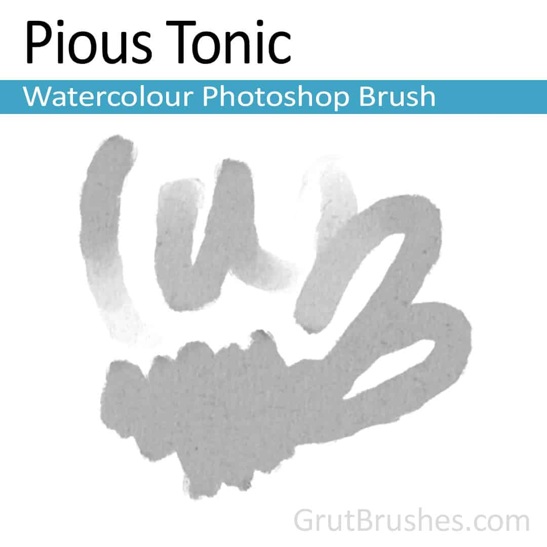 Photoshop Watercolor Brush toolset 'Pious Tonic'