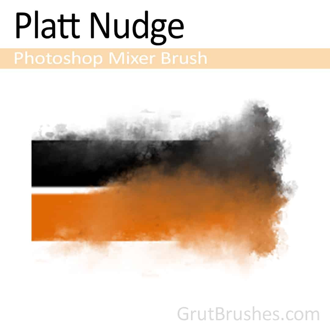 Photoshop Mixer Brush toolset 'Platt Nudge'