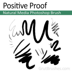 'Positive Proof' Photoshop Natural Media Pastel brush for digital painting