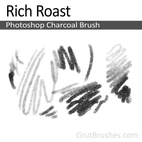 Photoshop Charcoal Brush 'Rich Roast'