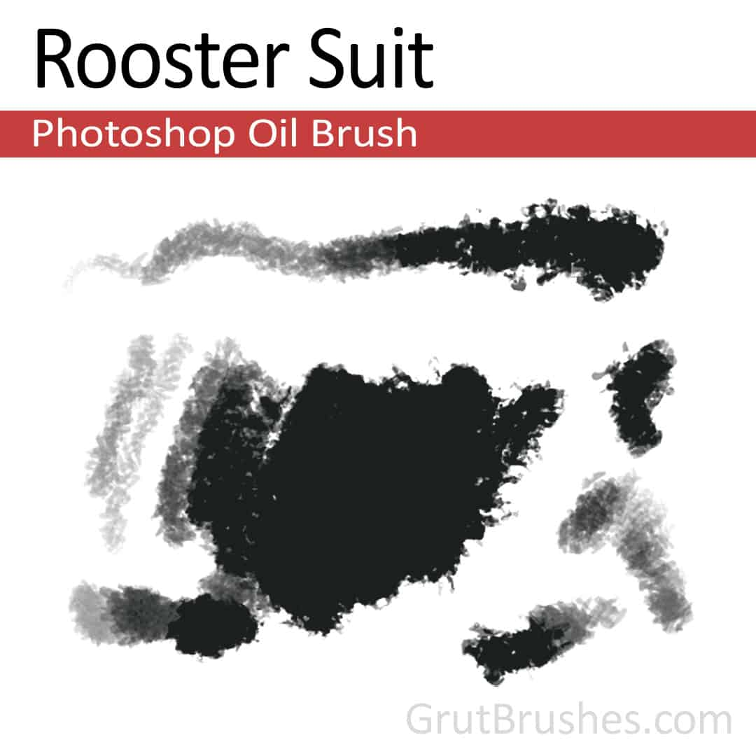 Rooster Suit - Photoshop Oil Brush - Grutbrushes.com