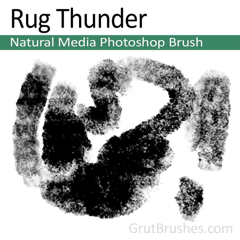 Photoshop Brush 'Rug Thunder'