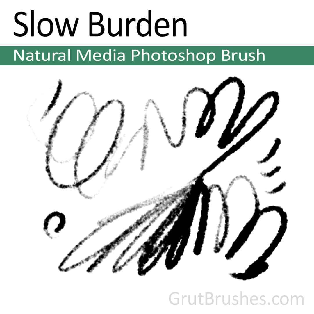 Slow Burden - Photoshop Natural Media Brush