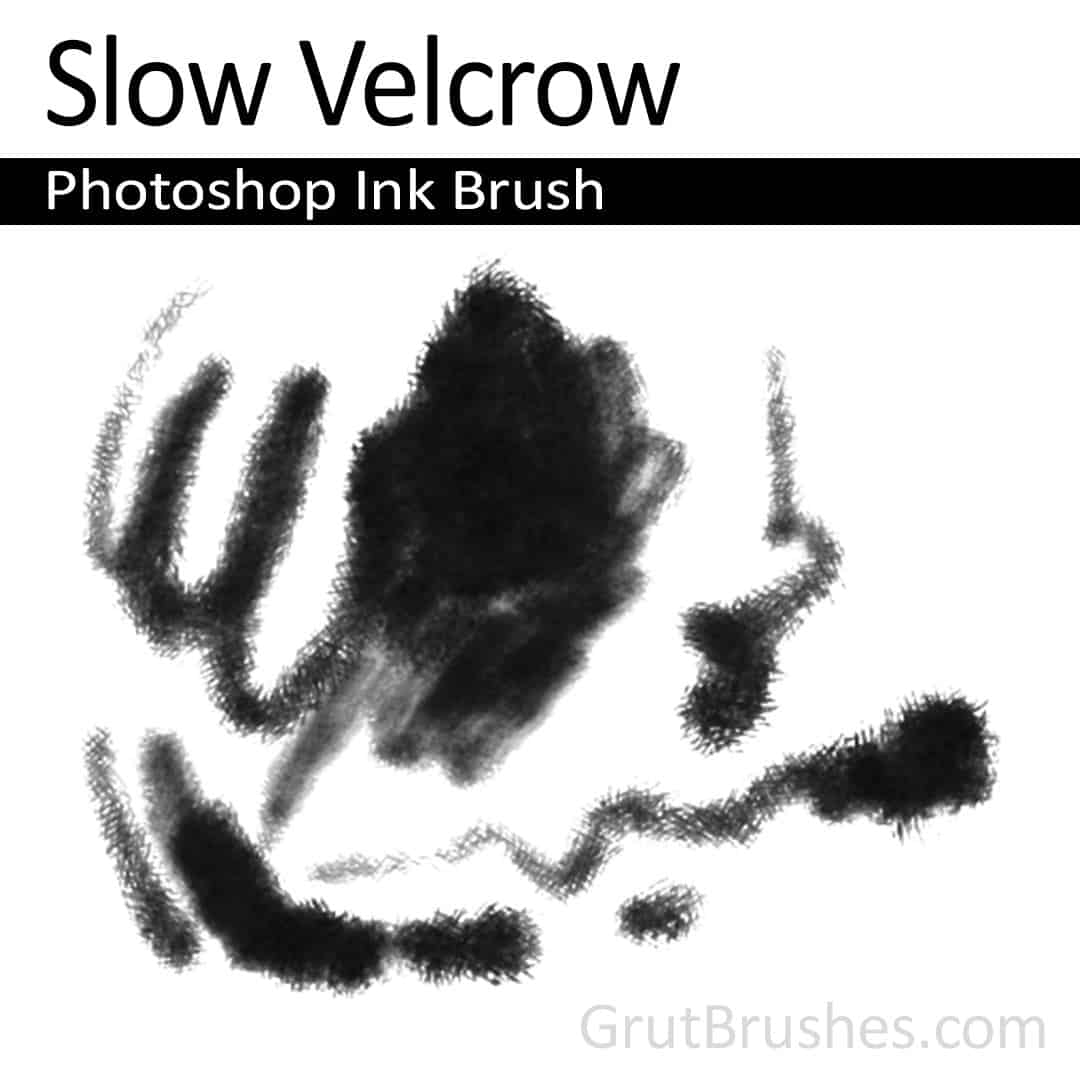 Slow Velcrow - Photoshop Ink Brush