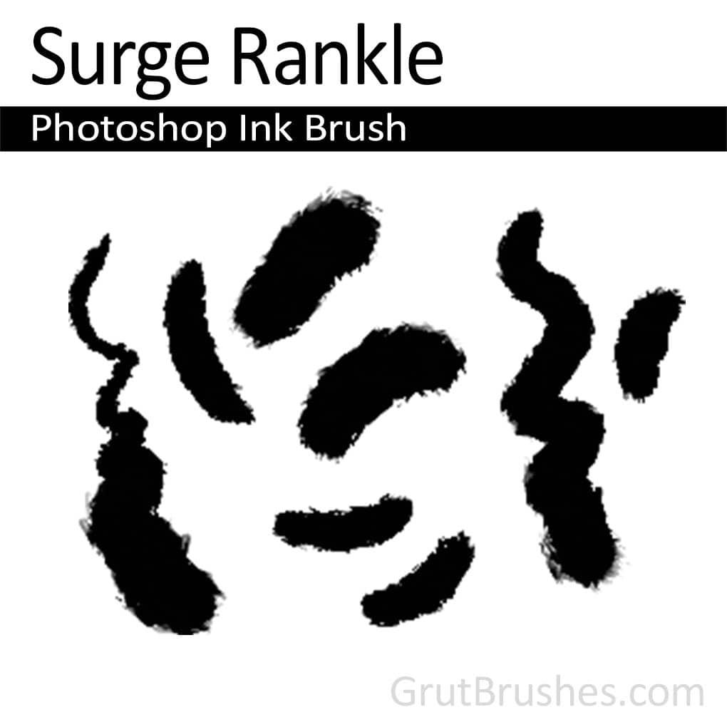 Photoshop Ink Brush for digital artists 'Surge Rankle'