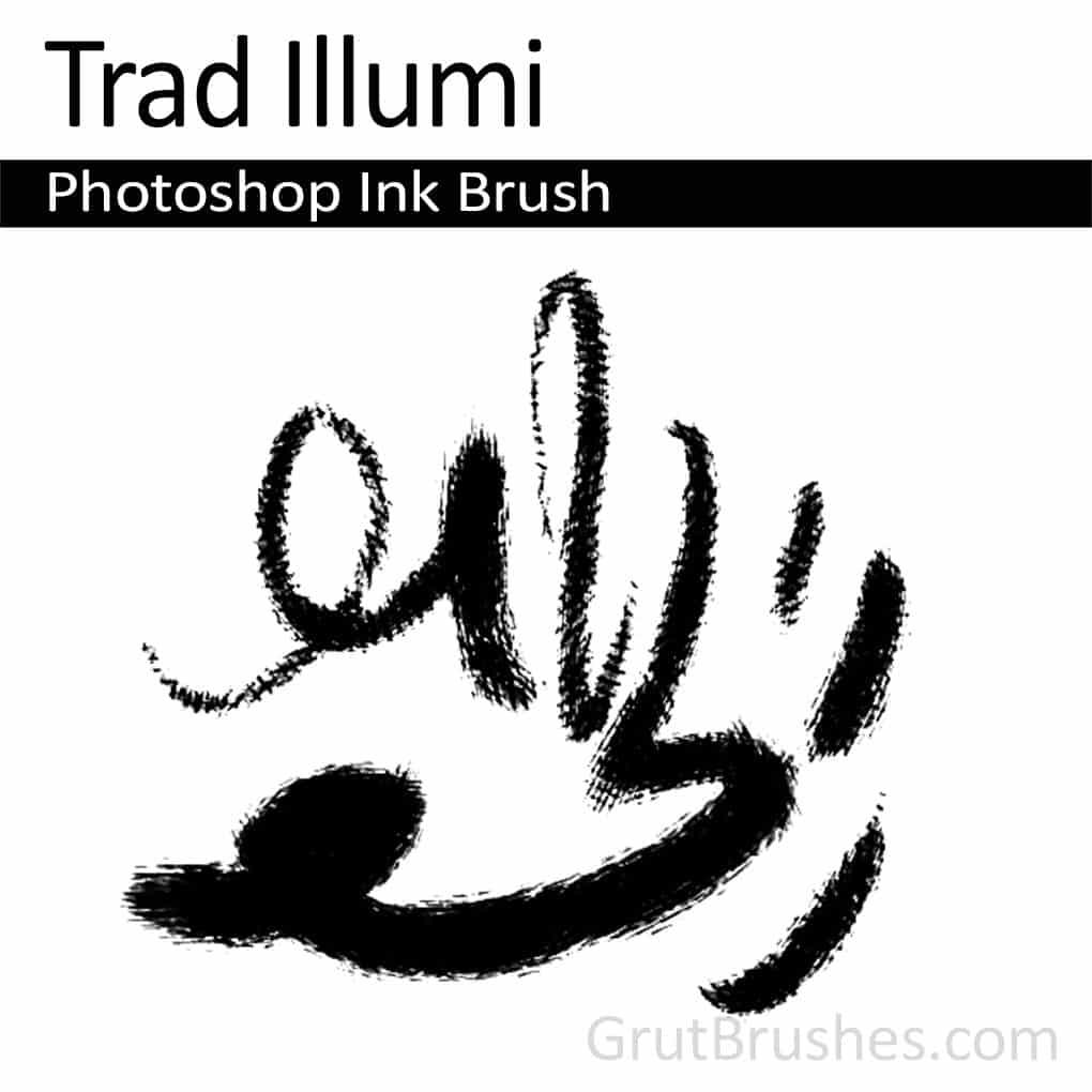 Photoshop Ink Brush
