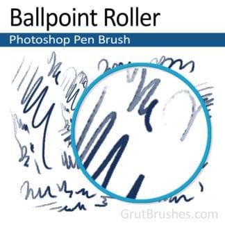 Ballpoint Roller - Photoshop Ink Brush