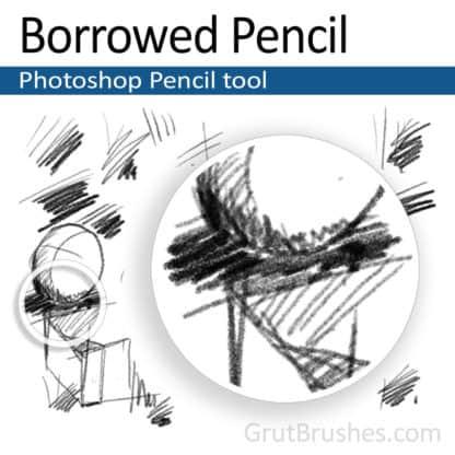 Borrowed Pencil - Photoshop Pencil Tool