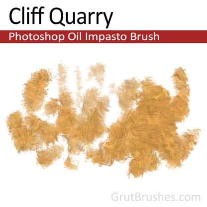 Cliff Quarry - Impasto Oil Photoshop Brush