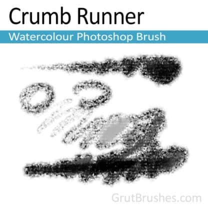 Crumb Runner - Photoshop Watercolor Brush