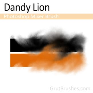Dandy Lion - Photoshop Mixer Brush