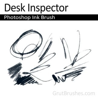 Desk Inspector - Photoshop Ink Brush