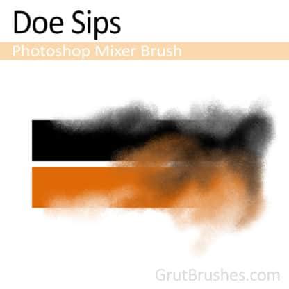 Doe Sips - Photoshop Mixer Brush