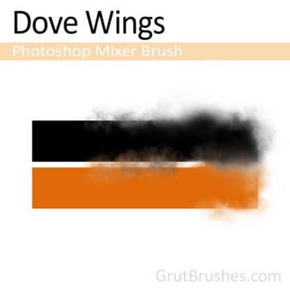 Dove Wings - Photoshop Mixer Brush