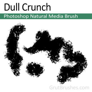 Dull Crunch - Photoshop Natural Media Brush