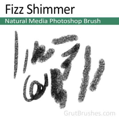 Fizz Shimmer - Photoshop Natural Media Brush