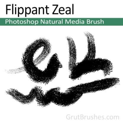 Flippant Zeal - Photoshop Natural Media Brush