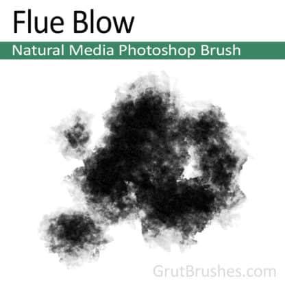 Flue Blow - Photoshop Natural Media Brush