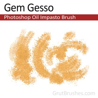 Gem Gesso - Photoshop Impasto Oil Brush